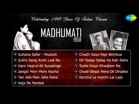 Madhumati [1958] Movie Songs | Jukebox | Dilip Kumar, Vyjayanthimala & Johnny Walker