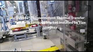 SVM 32*70 Intermittent TTO in Uruguay Market installed by Flax Uruguay