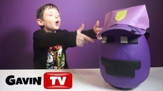 👮🏿FNAF Purple Guy PlayDoh Egg