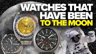 Watches that Have Been to Space and the Moon (Omega, Bulova, Sinn, Seiko & More)