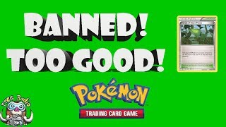 Ridiculous Pokémon Stadium Card Banned For Being Too Good! (Forest of Giant Plants)