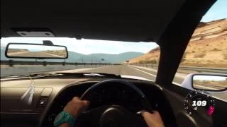 Forza Horizon- 850BHP Toyota Supra Single Turbo Top Speed Run