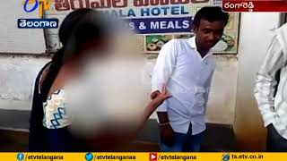 Woman Beats Up Man for Harassing Her | Ranga Reddy Dist