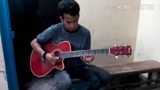 Hridoyo Prinjira posha pakhi re /guiter Lesson /cover by / NakBoR ShaikDeR /