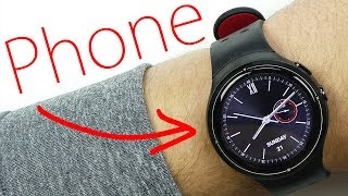 This Smart Watch is a Full Android Phone!