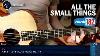 Como tocar All The Small Things BLINK 182 en Guitarra | Tutorial Completo Christianvib