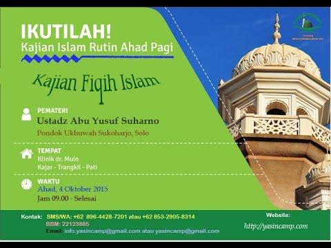 Kajian Fiqh Risalah Adzan dan Iqomah (lengkap)