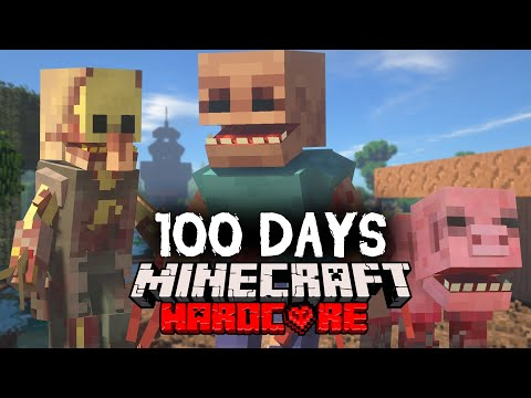 I Spent 100 Days in a Parasite Apocalypse in Minecraft Here s What Happened