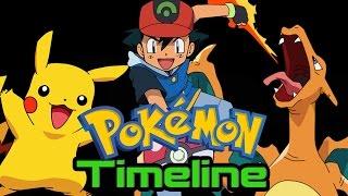 Pokémon Timeline (ASH KETCHUM Part 1) - Ft Gnoggin