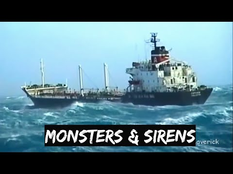 Sailing Ships Sailors in Monster Storms Rough Seas Poseidon Pirates Attack Ships Ocean Maverick