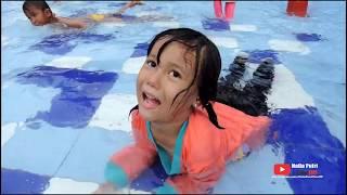Serunya Bermain Air Dan Perosotan, Sambil Belajar BERENANG   WATER JOY HARVEST CILENGSI