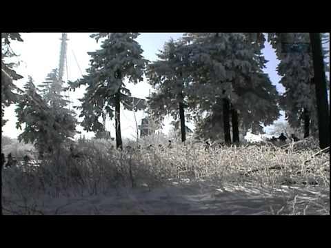 Taunus  Ein Wintertag am großen Feldberg im Taunus