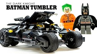 Batman The Tumbler based on The Dark Knight LEGO KnockOff Set w/ The Joker (DECOOL)