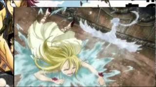 Lucy  Juvia vs Vidaldus Taka (Trinity Raven) English Sub [Fairy Tail]