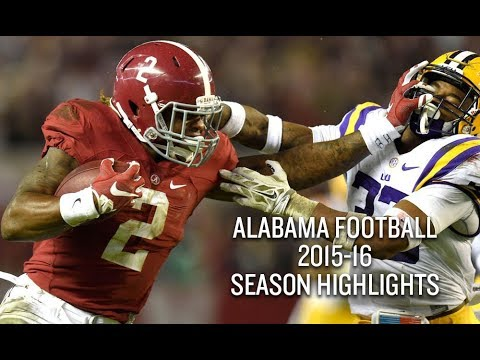 Alabama Football 2015 16 Season Highlights National Champions