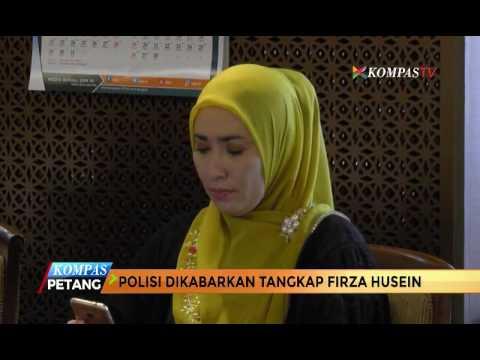 Polisi Tangkap Lagi Firza Husein