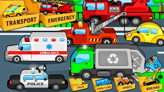 Street Vehicles - CARS for Children | Vehicle for Kids - Learning Videos : All Transport