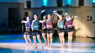 Let's Dance 2017 show Act2 7 Ladies Latin Team