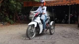 "An artisan in Cambodia surpasses ""bad karma"""""