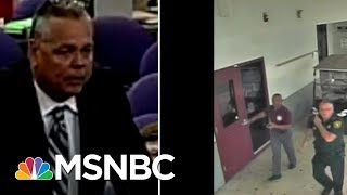 Analyzing Broward Deputy Scot Peterson's Response In Parkland Shooting Surveillance Video | MSNBC