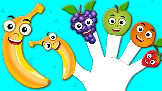 Fruits Finger Family | Nursery Rhymes From Kids tv