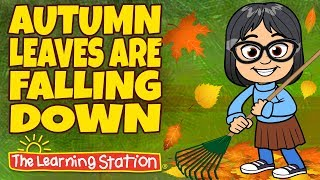 Seasons Songs for Kids - Autumn Leaves are Falling Down - Popular Kids Seasons Songs - Song for Kids