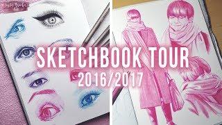 SKETCHBOOK TOUR 2016/Mid 2017 ♡ | tbrookerart