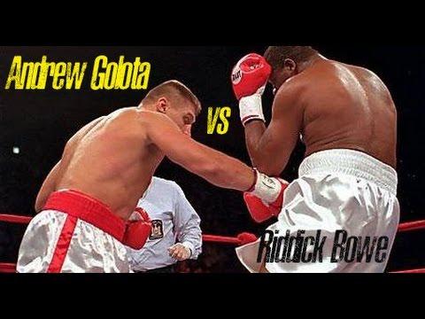 Riddick Bowe vs. Andrew Golota July 11, 1996 FULL FIGHT big scandal, Lou Duva in hospital.