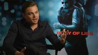 Leonardo DiCaprio : Body Of Lies - EXCLUSIVE INTERVIEW