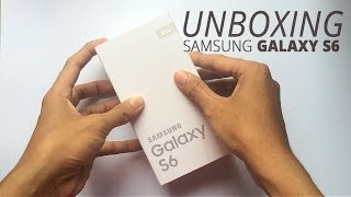 Samsung Galaxy S6 Unboxing and First Look - Galaxy S6 SM-G920F