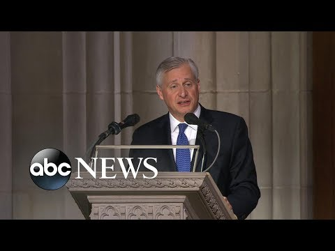 Xxx Mp4 Presidential Historian Offers Touching Eulogy At Bush Funeral 3gp Sex