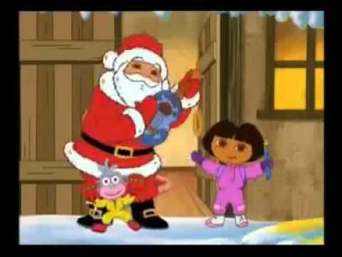 Dora Et Papa Noel Chante Joyeux Noel HD.