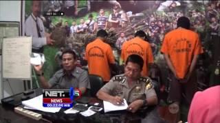 BNN Grebek Rumah Bandar Narkoba di Jambi, Amankan Paket Shabu dan Senjata Api - NET24