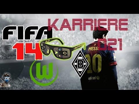 Lets Play FIFA 14 Karrieremodus Bundesliga [HD] #21 - Borussia M´gladbach [deutsch] [VFL Wolfsburg]