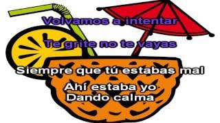 Marama - No te vallas - Karaoke / Instrumental
