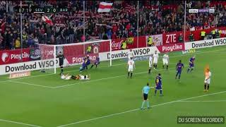 Luis Suarez's and Messi's goal vs Sevilla Ray Hudson commentary
