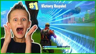 I WON VICTORY ROYALE!!!