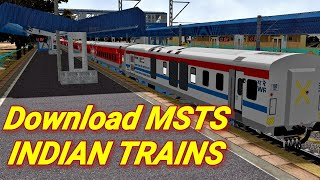 How To Add Indian Trains In MSTS || Download And Install MSTS || Tutorial Part 2