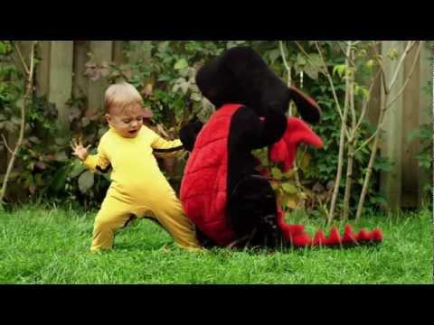 Behind Dragon Baby