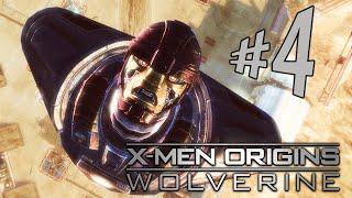 X-Men Origins Wolverine - Parte 4: Logan VS Sentinela!!!! [ PC - Playthrough ]