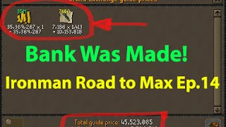 OSRS - Ironman Road To Max Ep.14 - BANK WAS MADE! (1927 Total) - Runescape 2007
