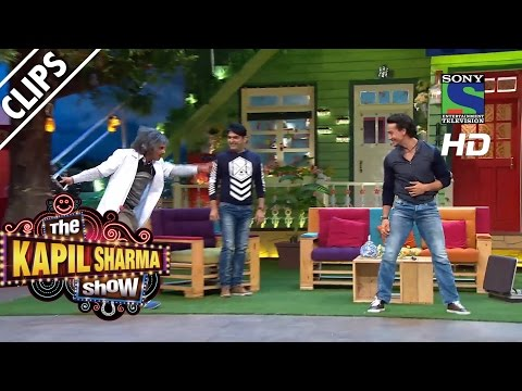 Tiger's Mashoor Action - The Kapil Sharma Show - Episode 2 - 24th April 2016
