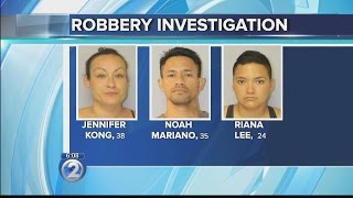 Suspects charged in armed robbery of beauty supply store in Kahului