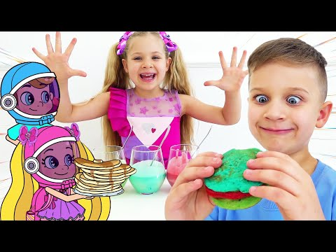Roma and Diana New Adventures in a magical world Funny Cartoons for Kids