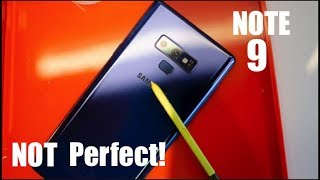 5 BIGGEST Problems With The Galaxy Note 9!