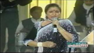 Aaja Aaja - Asha Bhosle Live