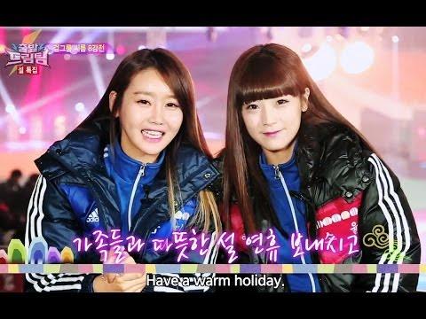 Let s Go Dream Team II 출발드림팀 II Girl Group Wrestling Contest 2014.02.23
