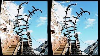 3D Roller Coaster D VR Videos 3D SBS [Google Cardboard VR Experience] VR Box Virtual Reality