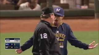 Craig Counsell ejections compliation