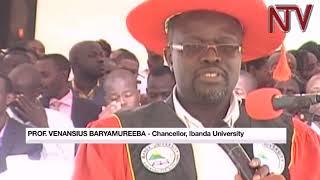 Baryamureeba praises Museveni for promoting higher education